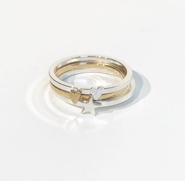 silver ring med namn