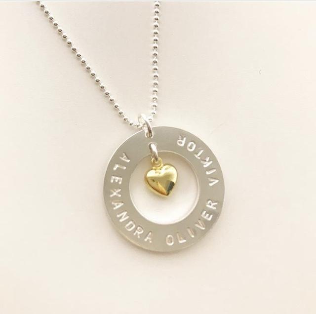 Love Name Necklace Smycke med namn 18de6295f0187