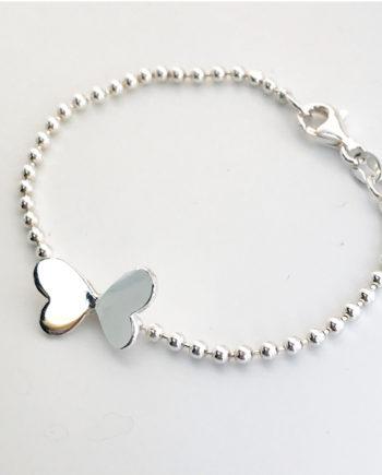 butterfly namnarmband
