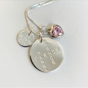 crossword necklace