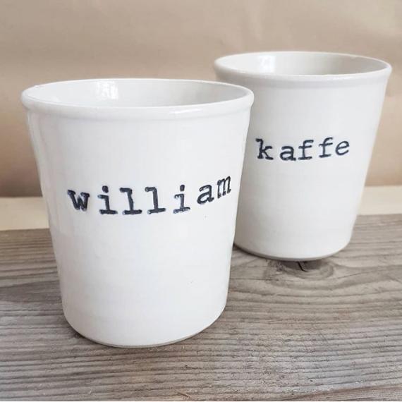 kopp med namn